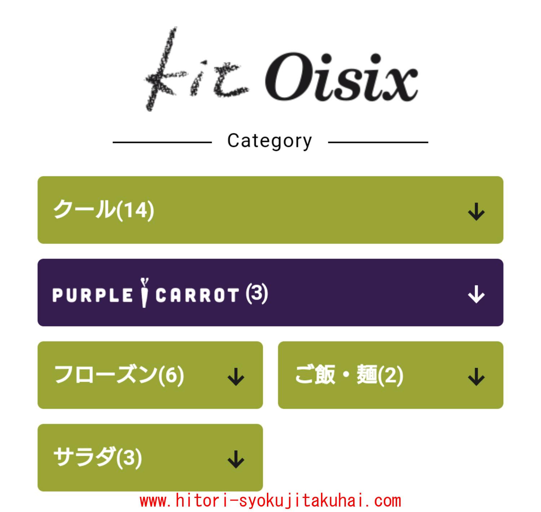 キットオイシックスのカテゴリー