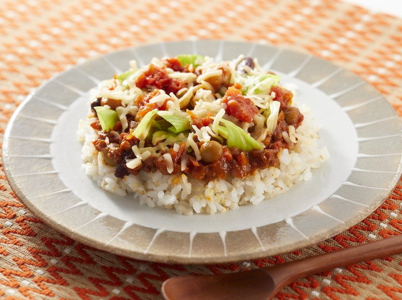 食宅便 3種豆のタコライス